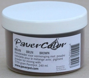 PA012A Pavercolor pigment BRUIN grootverpakking