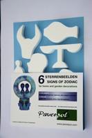 Sterrenbeelden 10cm verpakking 001, blauw