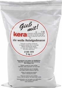 Keraquick gips/gietpoeder wit art. 2160305
