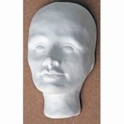 Paverpol keramisch hoofdje Robin gips 002