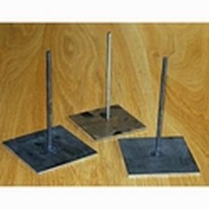 Metalen pin met voet 15cm hoog art. PAV043  15cm