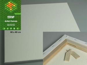Canvas doek 1,7cm dik Green Leafs 430200/4040  40x40cm/1,7cm