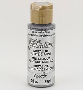 DecoArt Americana DA-070 Dazzling Metallics Shimm. Silver
