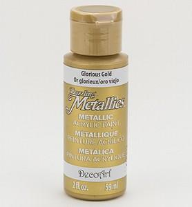 xDecoArt Americana DA-071 Dazzling Metallics Glorius Gold