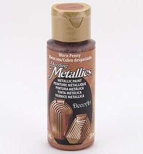 DecoArt Americana DA-287 Dazzling Metallics Worn Penny