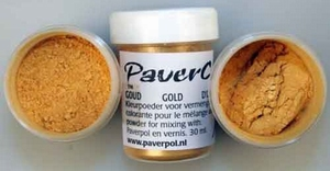 Pavercolor metallic: GOUD PA028