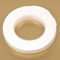 0857.02 Uni crepeband wit 1,3 cm x 28 meter
