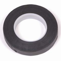 Uni crepeband zwart 1,3 cm x 28 meter