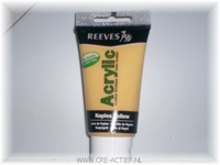 Reeves Acrylverf Naples Yellow 8340-495