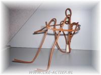 Draadfiguur voor een figuur van ongeveer 40cm PA802