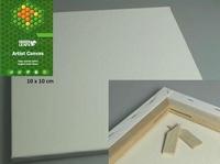 Canvas doek 1,7cm dik Green Leafs 430200/1010  10x10cm/1,7cm