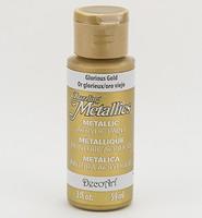 DecoArt Americana DA-071 Dazzling Metallics Glorius Gold 59ml