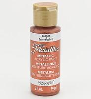 DecoArt Americana DA-205 Dazzling Metallics Copper 59ml