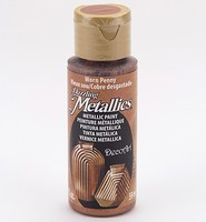 DecoArt Americana DA-287 Dazzling Metallics Worn Penny 59ml