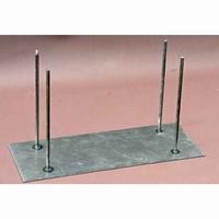 Metalen statief met 4 pennen (20cm hoog) PA K059 13x25cm
