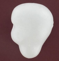 Styropor basis poppenhoofdje nr.4 ''Bets van Boxel'' hoogte 12cm
